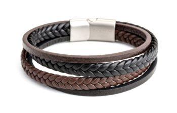 brown& black bracelet from Mc Gregor jewelry